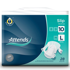 Attends® Slips Active 10 Large