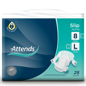 Attends® Slips Active 8 Large