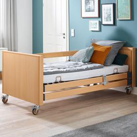 Pflegebett Holz Dekor