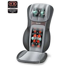 Shiatsu-Massage Sitzauflage MG295 black