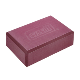 SISSEL® Yoga Block, bordeaux
