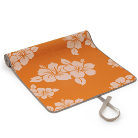 SISSEL® Yoga Matte Flower, orange
