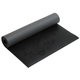 Yogamatte yogimat® ultra grip - black indian flower