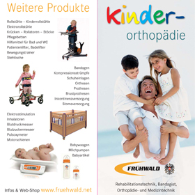 Folder Kinderorthopädie