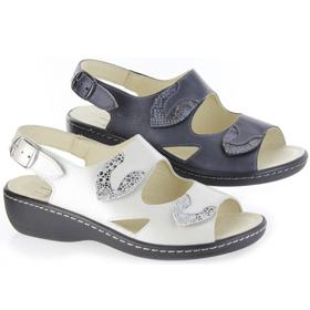 Damen Sandale mit Wechselfußbett