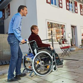 Demo Gerät<br>V-Max inkl. Rollstuhl