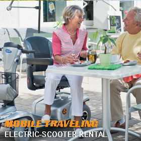Electric-Scooter rental