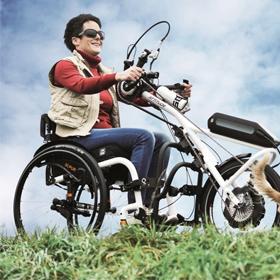 ATTITUDE Hybrid Handbike